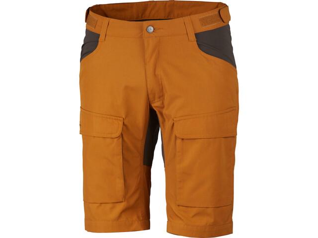 Lundhags Authentic II Shorts Men dark gold/tea green